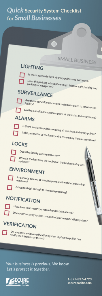 Tip Tuesday: Quick Security System Checklist for Small Businesses