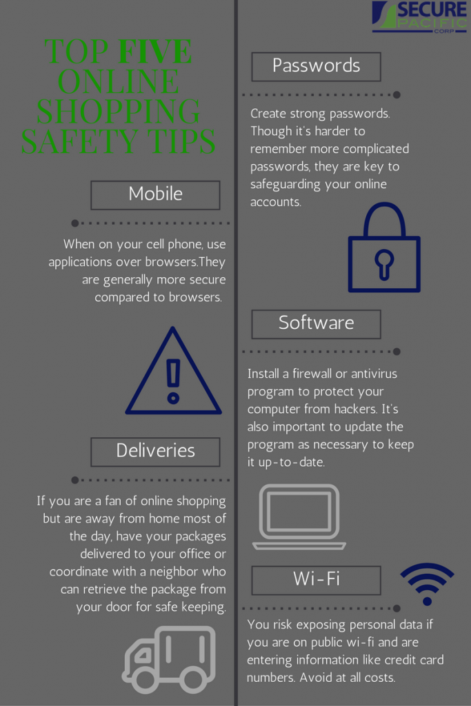 Tip Tuesday: Top Five Online Shopping Safety Tips