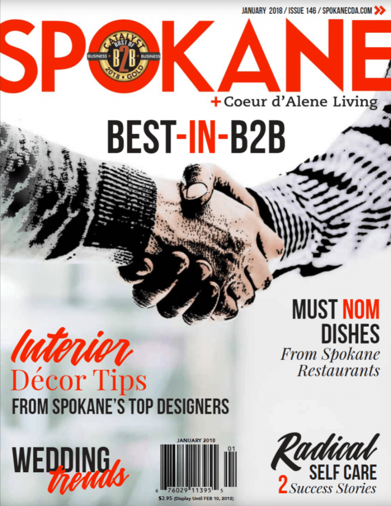 Living Magazine Cover - Spokane Coeur d'Alene Bronze